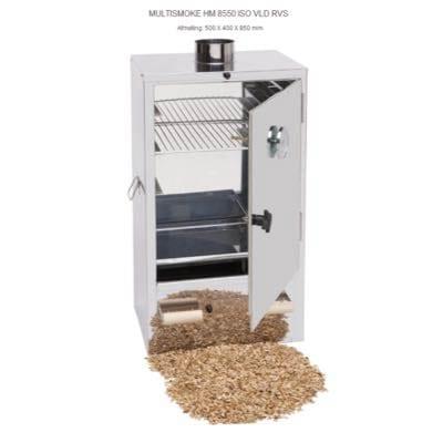 Rookoven Multismoke HM 8550 ISO VLD RVS