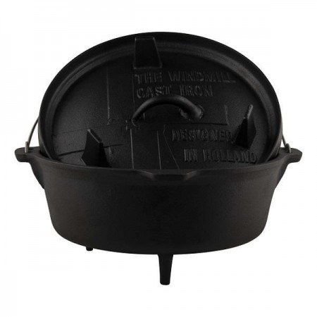 Windmill gietijzer Dutch Oven 9 quarts 2
